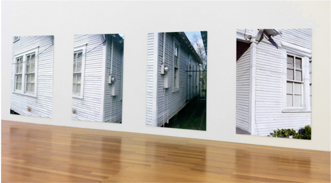 SETON SMITH, Row Houses #11, 12, 13 et 18, 2011, C-Print, 240 x 180 cm chaque